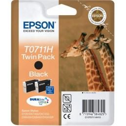 Epson T0711H černá 2ks (11mlx2)