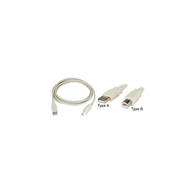 USB kabel k tiskárně A-B délka 1,8 m