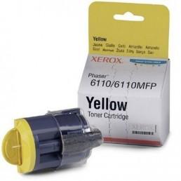 toner Xerox Phaser 6110 žlutý