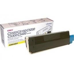 toner OKI C5100,C5200,C5300,C5400 žlutý