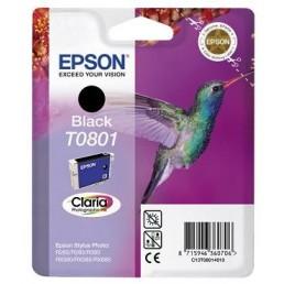 Epson T0801 černá (7,4ml)