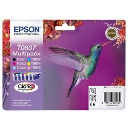 sada Epson T0801 až T0806 (celkem 6ks)