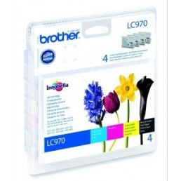 Sada Brother LC-970Bk+LC-970C+LC970M+LC970Y
