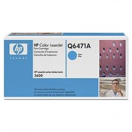 Toner HP Q6471A azurový