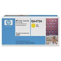 Toner HP Q6472A žlutý