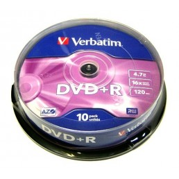 DVD+R Verbatim 4.7Gb 120min 10ks