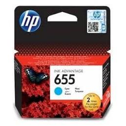HP 655 azurová