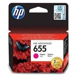 HP 655 purpurová