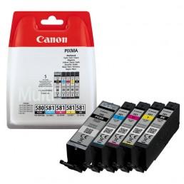 Sada Canon PGI-580, CLI-581Bk,C,M,Y (5ks)