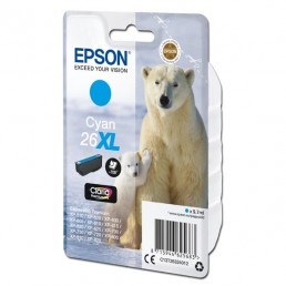 Epson 26XL, (T2632) azurová 9,7ml
