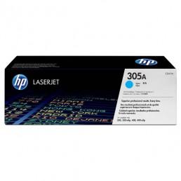 Toner HP 305A, HP CE411A azurový
