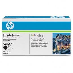 Toner HP CE260X, HP 649X černý 17000 stran