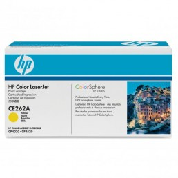 Toner HP CE262A, HP 648A žlutý 11000 stran