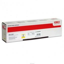 Toner OKI C801,C821 žlutý