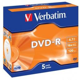 DVD-R Verbatim 4.7Gb 120min krabička - 5ks