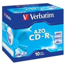CD-R Verbatim 700Mb 80min krabička 10ks