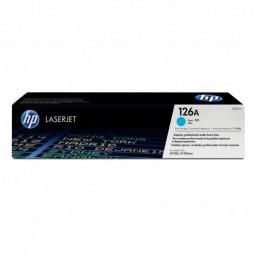 Toner HP 126A, HP CE311A azurový