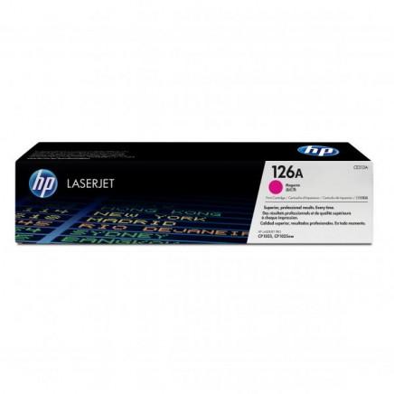 Toner HP 126A, HP CE313A purpurový