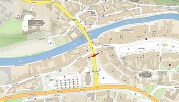 Mapa - TREBservis - spotřební materiál pro tiskárny